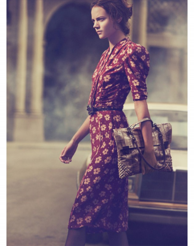 Bottega Veneta SS 2013 by Peter Lindbergh