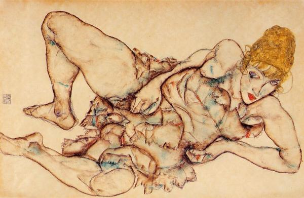 reclining-woman-with-blond-hair-1914