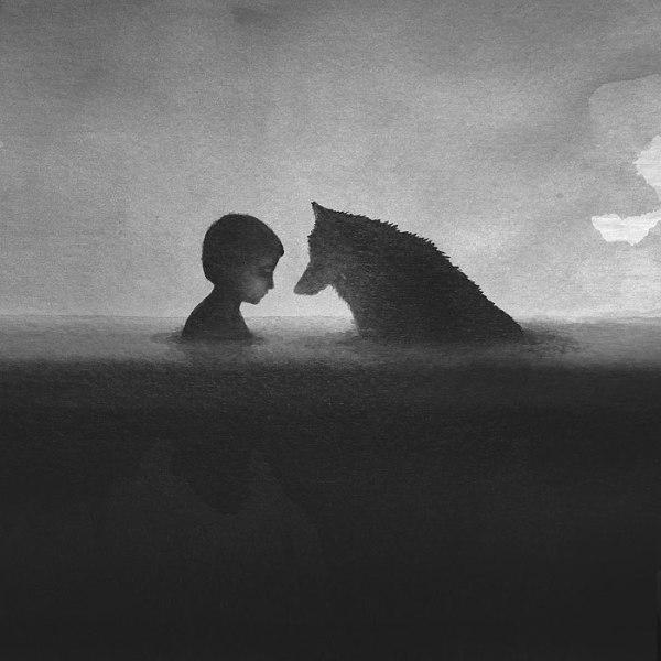 animals-children-black-and-white-watercolor-art-elicia-edijanto-3