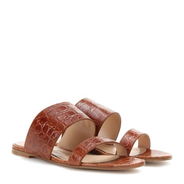 P00129006-Crocodile-leather-sandals-STANDARD